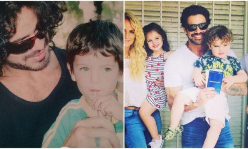 Viene de familia: ¡El hijo de Luciano Castro creció y es igual que su papá!
