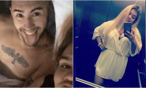 """More Rial y su novio compartieron una foto después de una """"noche de amor"""""""