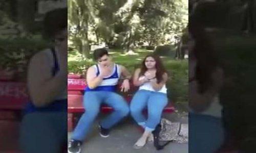 Padre descubre al novio de su hija siendo infiel y lo graba
