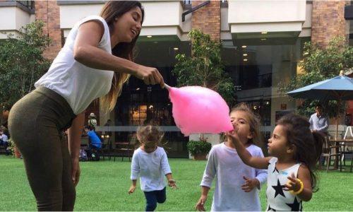 ¡Momento incómodo! Le preguntaron a la hija de Cinthia Fernandez a qué se dedica su mamá