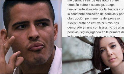 Malena Pichot compartió una carta escrita por la chica abusada por un jugador de fútbol