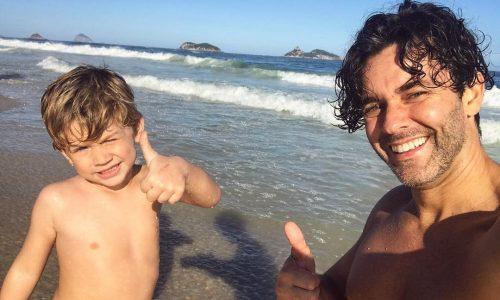El momento de Mariano Martinez con su hijo que le dio asco a todos