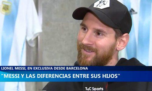 """Lionel Messi: """"Thiago es lo más bueno, Mateo un hijo de p..."""""""