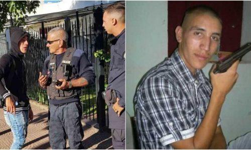 Ricardo Centurión fue filmado amenazando a la policia