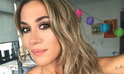 Jimena Barón mostró cómo le queda el cuerpo después de un show