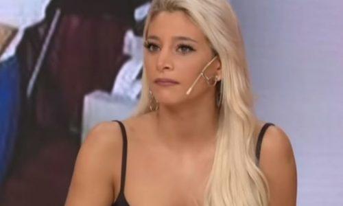 Sol Pérez se enteró al aire que el futbolista con quien sale tiene novia