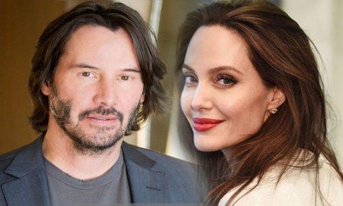 Keanu Reeves y Angelina Jolie: Romance confirmado