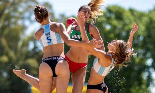 Las chicas de beach handball ganaron y sumaron otro Oro para Argentina