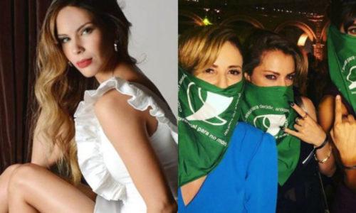 El polémico tweet de Barby Franco en contra del colectivo de Actrices Argentinas