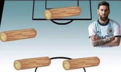 Los mejores memes que dejó el decepcionante debut de Argentina en la Copa América