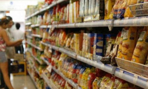Un supermercado vende a 3 mil pesos el arroz y 2 mil los fideos