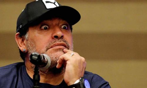 Aparecieron fotos de la supuesta hija de Maradona y sorprendió su parecido con Gianinna