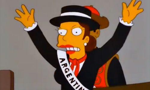 14 Referencias a Argentina en Los Simpsons, la N°4 fue censurada en Latinoamérica