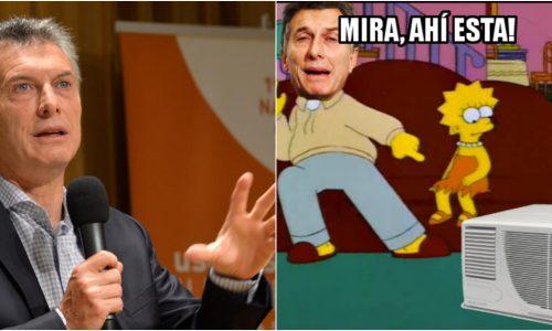 Los mejores memes luego de la polémica frase de Macri y los aires acondicionados