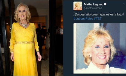 ¡Mirtha Legrand vuelve a ser víctima del ingenio de sus seguidores en Twitter con las respuestas más graciosas!
